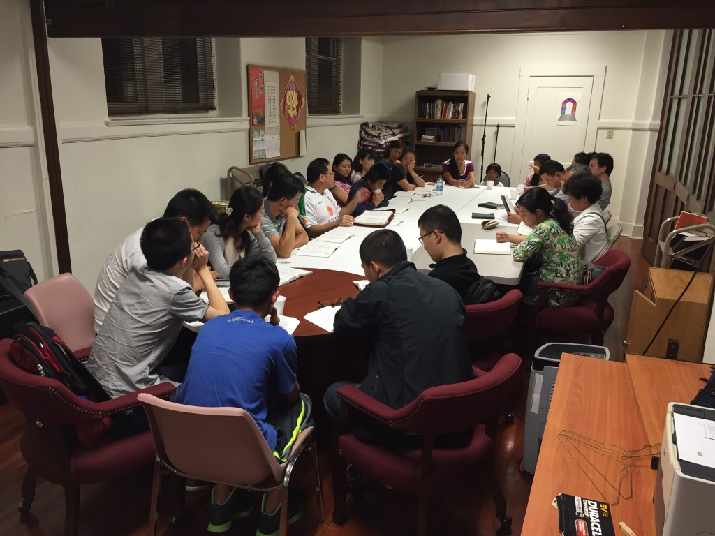 CHCCC Friday Chinese Bible Study 01_11Sept2015