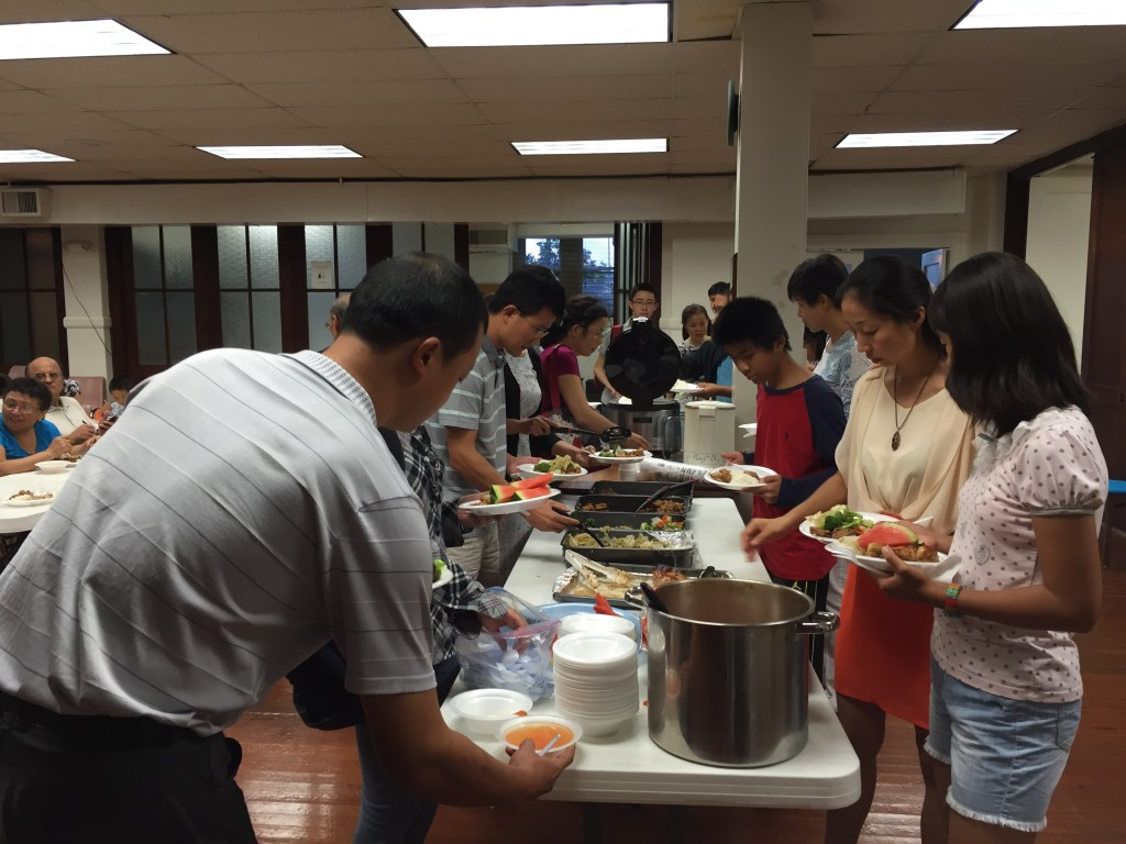CHCCC Friday Love Feast 01_11Sept2015